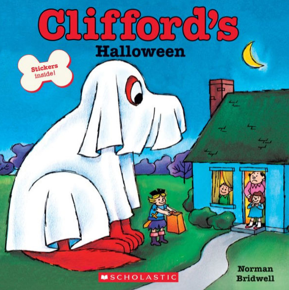 Cliffords Halloween book cover