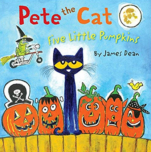 Pete the Cat - Five Little Pumpkins book cover